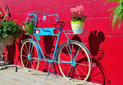 Créer son vélo décoratif de jardin : mode d'emploi